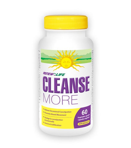 CleanseMORE - 60vcaps - Renew Life - Health & Body Nutrition