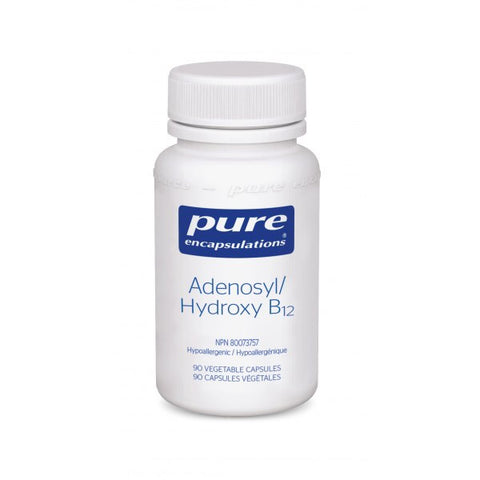 Adenosyl/Hydroxy B12 - 90vcaps - Pure Encapsulations - Health & Body Nutrition