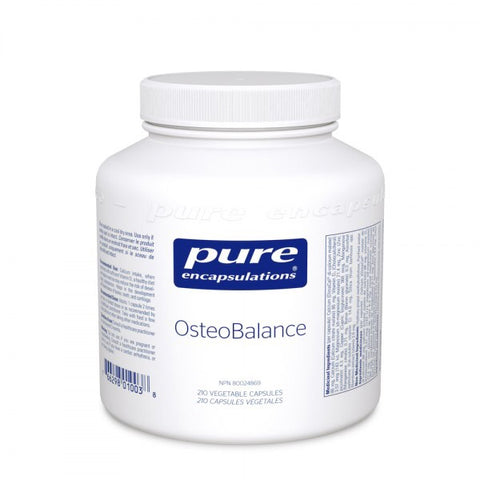 OsteoBalance - 210vcaps - Pure Encapsulations - Health & Body Nutrition