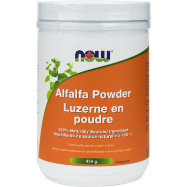 Alfalfa Powder 454g - Now Foods - Health & Body Nutrition