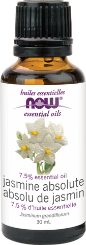 Jasmine Absolute Essential Oil - 30ml - Now - Health & Body Nutrition