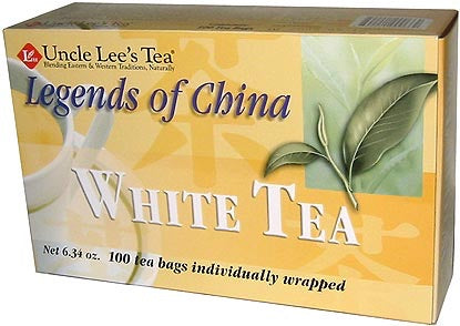 Legends Of China White Tea - 100bags - Uncles Lee's Tea - Health & Body Nutrition