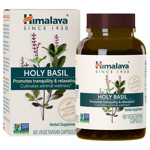 Holy Basil - 60caps - Himalaya - Health & Body Nutrition
