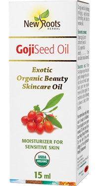 Goji Seed Oil - 15ml - New Roots Herbal - Health & Body Nutrition