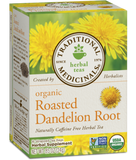 Organic Roasted Dandelion Root Tea - 20bags - Traditional Medicinals - Health & Body Nutrition