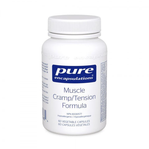 Muscle Cramp/ Tension Formula - 60vcaps - Pure Encapsulations - Health & Body Nutrition