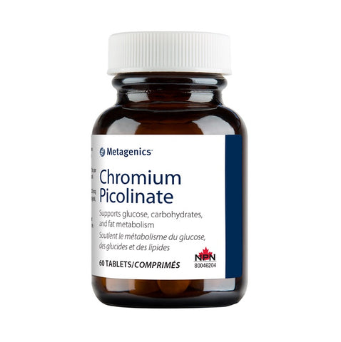 Chromium Picolinate - 60tabs - Metagenics - Health & Body Nutrition