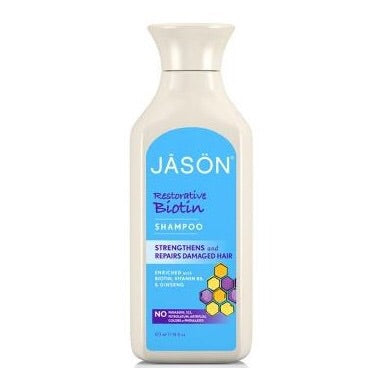 Restorative Biotin Shampoo - 473ml - Jason - Health & Body Nutrition