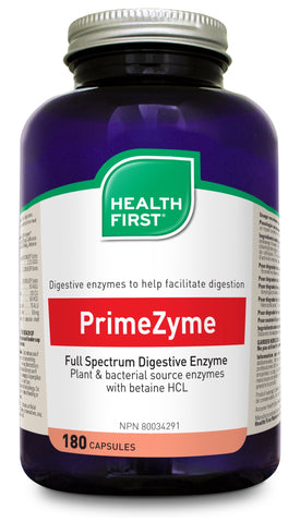 PrimeZyme - 180caps - Health First - Health & Body Nutrition