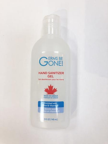 Germs be gone - Hand Sanitizer - 148ml - Health & Body Nutrition
