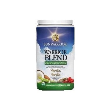 Warrior Protein Blend - Vanilla - 750g - Sunwarrior - Health & Body Nutrition