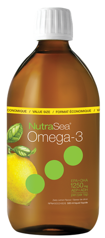 NutraSea Omega-3 Lemon - 500ml - Nature's Way - Health & Body Nutrition