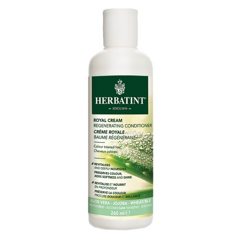 Herbatint Aloe Vera Royal Cream Conditioner - 260ml - A.Vogel - Health & Body Nutrition