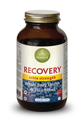 Recovery Extra Strength - 180vcaps - Purica - Health & Body Nutrition