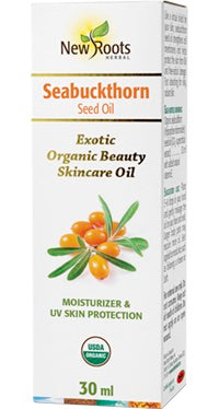Seabuckthorn Skincare Oil - 30ml - New Roots Herbal - Health & Body Nutrition