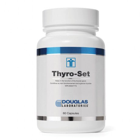 Thyro-Set - 60vcaps - Douglas Labratories - Health & Body Nutrition
