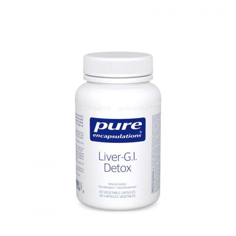 Liver-G.I. Detox - 60vcaps - Pure Encapsulations - Health & Body Nutrition