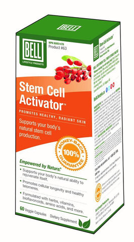 Stem Cell Activator - 60vcaps - Bell - Health & Body Nutrition