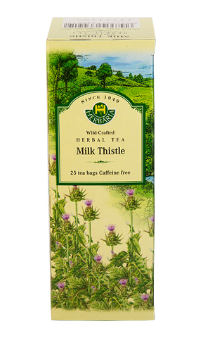Milk Thistle Herbal Tea - 25bags - Herbaria - Health & Body Nutrition