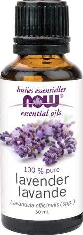 Lavender Essential Oil - Now - Health & Body Nutrition