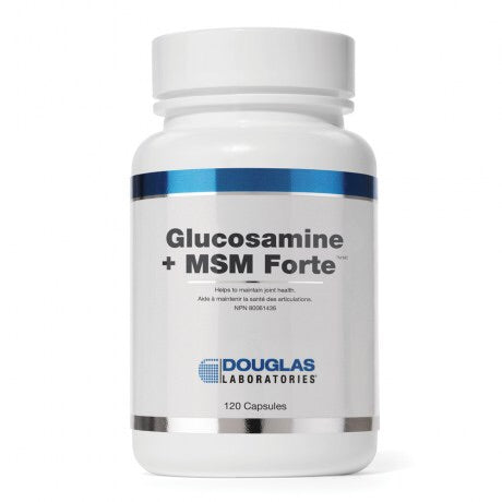 Glucosamine + MSM Forte - 120caps - Douglas Labratories - Health & Body Nutrition