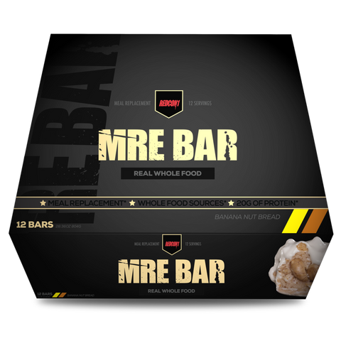 MRE BAR - Banana Nut Bread- 12bars - RedCon1 - Health & Body Nutrition