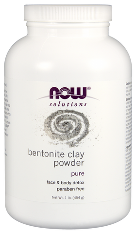 Bentonite Clay Powder - 1lb - Now - Health & Body Nutrition