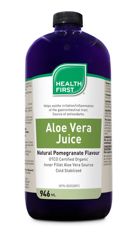 Aloe Vera Juice - 946ml - Health First - Health & Body Nutrition