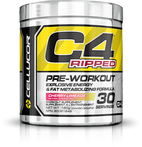 C4 Ripped Pre-Workout - 30servings - Cellucor - Health & Body Nutrition