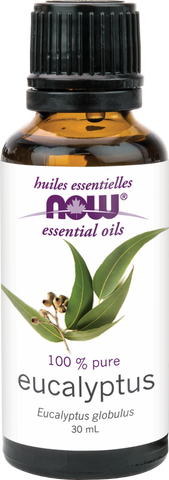 Eucalyptus Essential Oil - 30ml - Now - Health & Body Nutrition