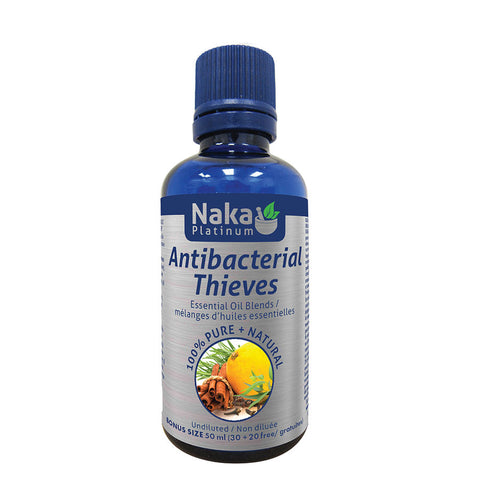 Thieves Oil - Antibacterial- 50ml - Naka Platinum - Health & Body Nutrition