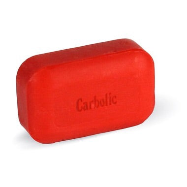 Carbolic Bar Soap - 110g - The Soap Works - Health & Body Nutrition