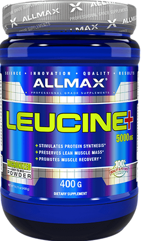 Leucine+ 5000mg - 400g - Allmax - Health & Body Nutrition
