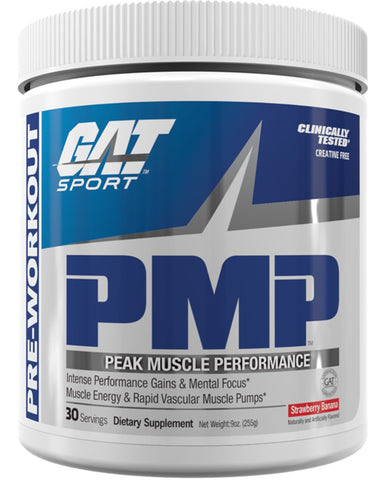 PMP Pre-Workout - 255g - Gat Sport - Health & Body Nutrition