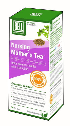 Nursing Mother's Tea - 30bags - Bell - Health & Body Nutrition
