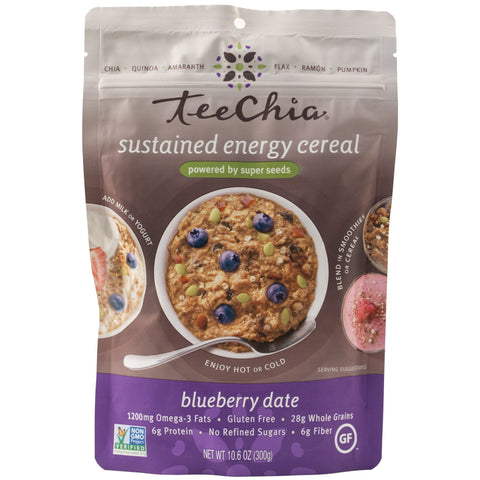 Teechia Blueberry Date Cereal - 300g - Teeccino - Health & Body Nutrition