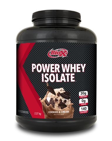 Power Whey Isolate - 5lbs - BioX - Health & Body Nutrition