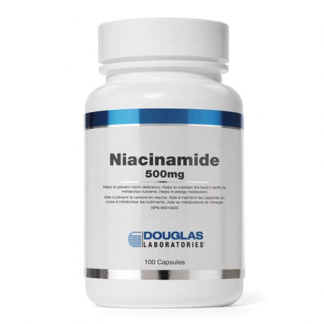 Niacinamide 500mg - 100caps - Douglas Labratories - Health & Body Nutrition