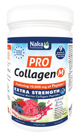 Pro Collagen Extra Strength - Marine - Natural Berry Flavour - 315g - Naka - Health & Body Nutrition