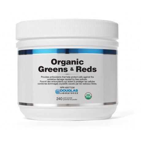 Organic Greens & Reds - 240g - Douglas Labratories - Health & Body Nutrition