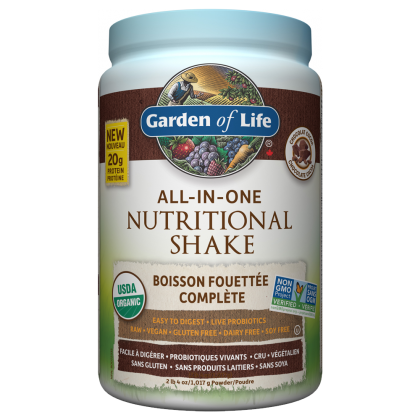 Raw Organic All-In-One Shake - 1017g - Garden Of Life - Health & Body Nutrition