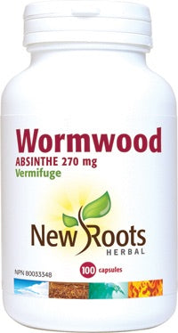 Wormwood - 100vcaps - New Roots - Health & Body Nutrition