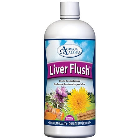 Liver Flush - 500ml - Omega Alpha - Health & Body Nutrition