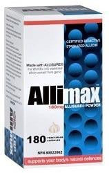 Allimax Allisure Powder 180mg - 180vcaps - Health & Body Nutrition