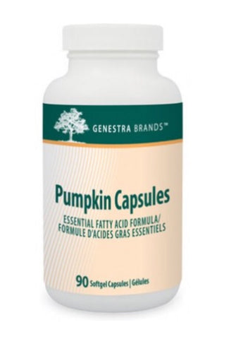 Pumpkin Capsules - 90vcaps - Genestra - Health & Body Nutrition