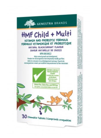 HMF Child + Multi - 30chewables - Genestra - Health & Body Nutrition