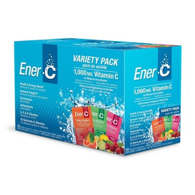 Multivitamin Drink Mix - Variety Pack - 30packs - Ener-C - Health & Body Nutrition