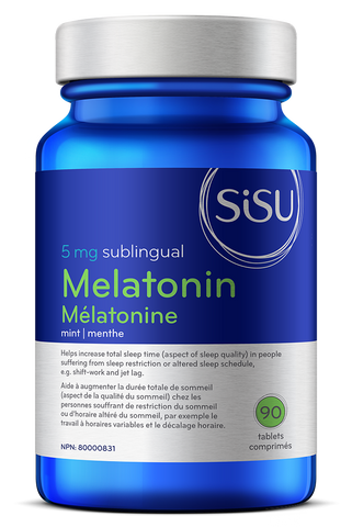 Melatonin 5mg - 90tabs - Sisu - Health & Body Nutrition