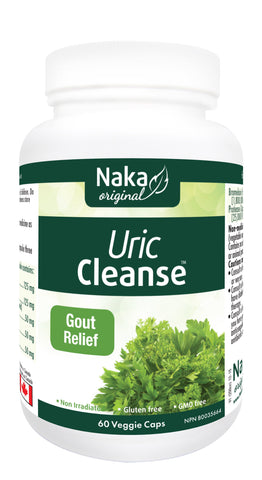 Uric Cleanse - 60vcaps - Naka - Health & Body Nutrition