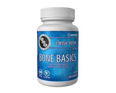 Bone Basics 255mg - 360caps - AOR - Health & Body Nutrition